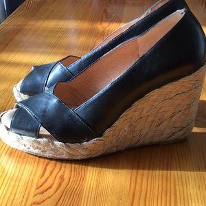 Michael Kors espadrille wedge shoes